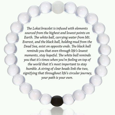 The Hottest selling bracelet is the Lokai Bracelet. It contains water from Mt. Everest and Mud from The Dead Sea. S,M,L,XL $2.00 Shipping!