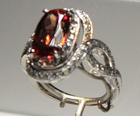 платиновое кольцо