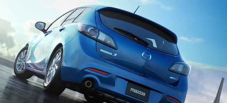 2012 Mazda3 5-Door hatchback #Mazda