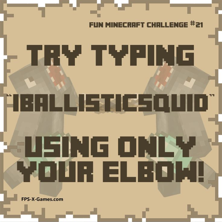 The 27 best images about Fun Minecraft Challenges on Pinterest ...
