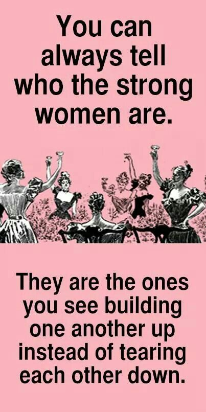 Agreed! Empowerment! Empower one another.