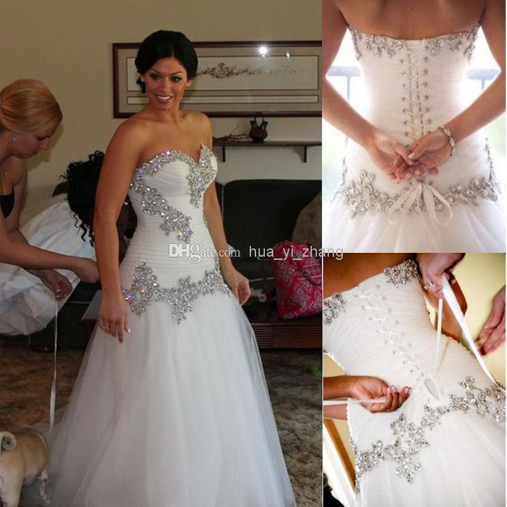 2014 wedding dresses pnina tornai mermaid sweetheart bling