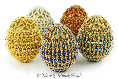 Ode To Faberge by Manek-Manek Beads - Jewelry   Kits   Beads   Patterns