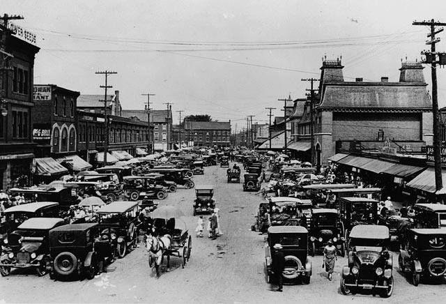 Ottawa's Byward Market in the 1920s.