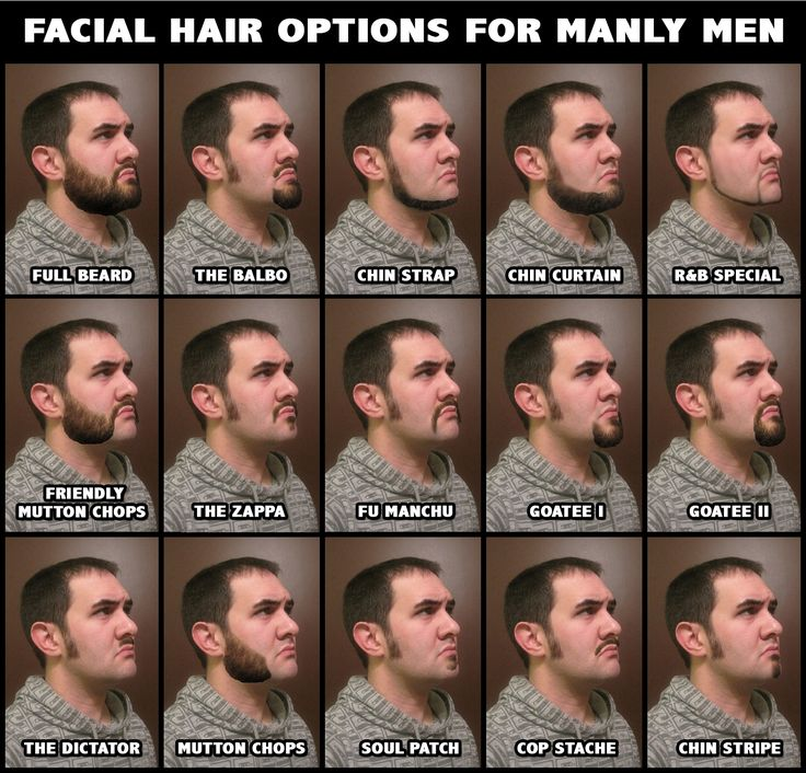 Tremendous 1000 Ideas About Facial Hair Types On Pinterest Beard Styles Short Hairstyles Gunalazisus