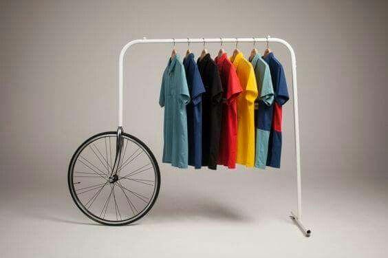 Kleiderständer zum rollen 🚲
