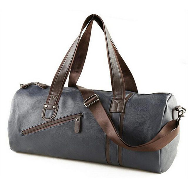 Special offer 2017 New PU Leather Tote Duffel Bag Large Capacity Outdoor Men's Sports Bag Multifunction Portable Travel Sports Gym Fitness Bag just only $29.98 with free shipping worldwide  #sportsbags Plese click on picture to see our special price for you
