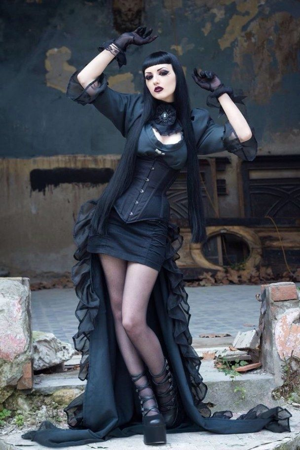 Beautiful goth clothing USA | Gothic outfits, Gothic fashion, Goth women