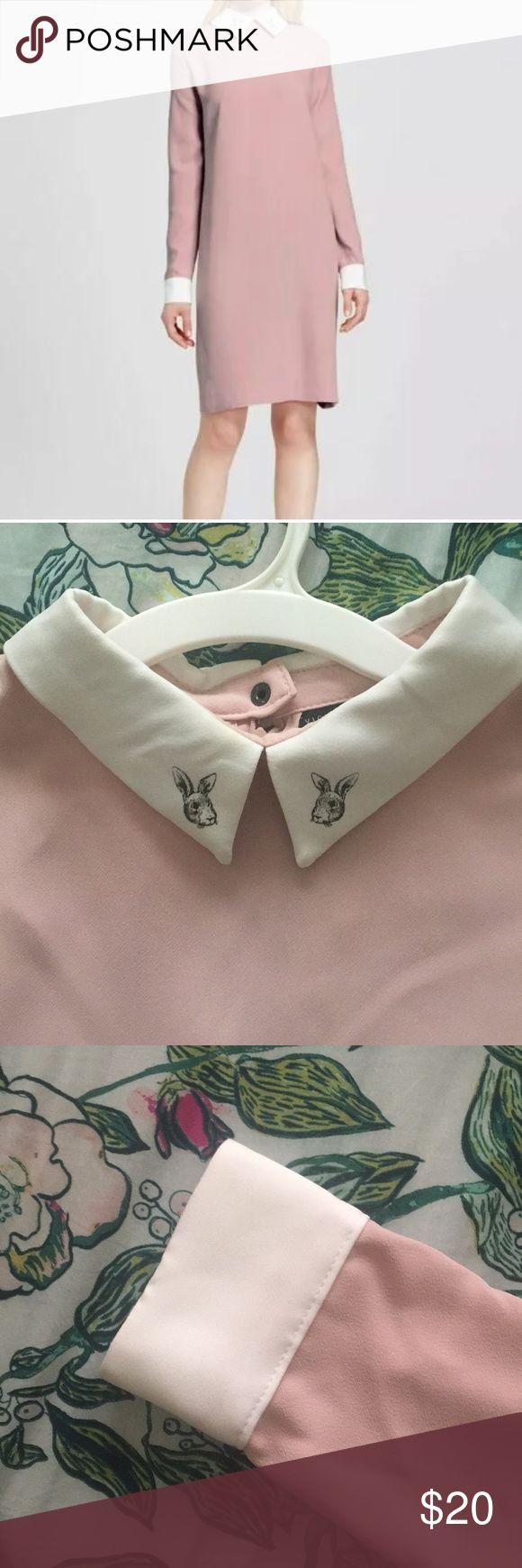 Victoria Beckham Target Pink Peter Pan Kleid XL Dieses Kleid ist aus dem …