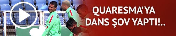 Ronaldo'dan Quaresma'ya dans şov! | VİDEO