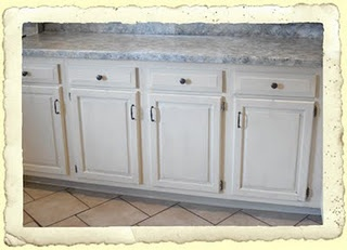 Frugal Fine Living: Budget DIY Kitchen Redo   Part Beadboard And Countertops