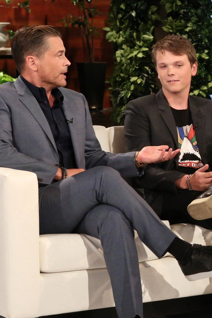 """Rob Lowe's Sons Reveal What They Can't Stand About Their """"Mortifying"""" Dad"""