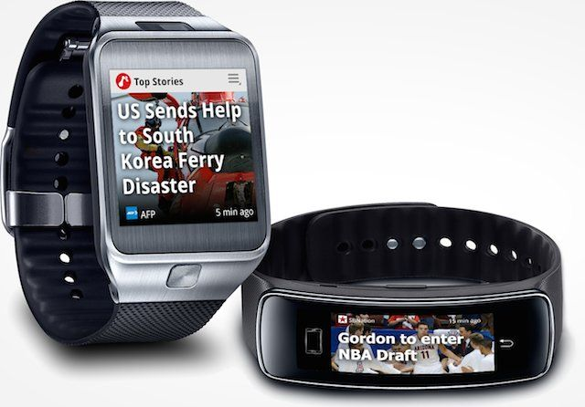 News Republic And Appy Geek Launched For Samsung Gear 2 And Gear Fit