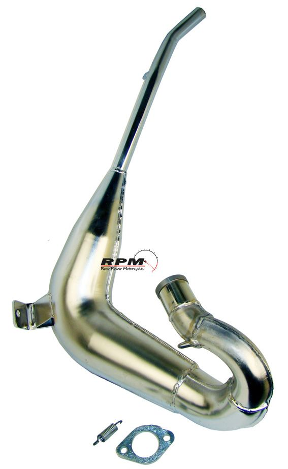 DT175 MX/E 78-86 Big One Front Expansion Pipe