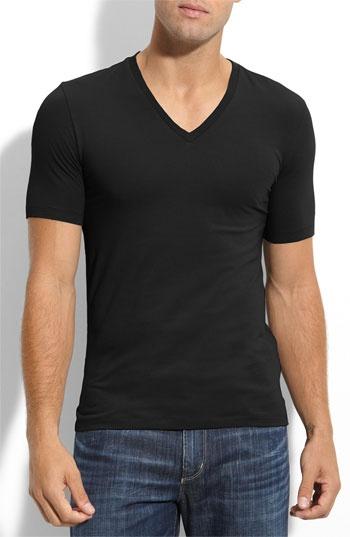 HUGO 'Dredoso' Extra Trim Fit V-Neck T-Shirt