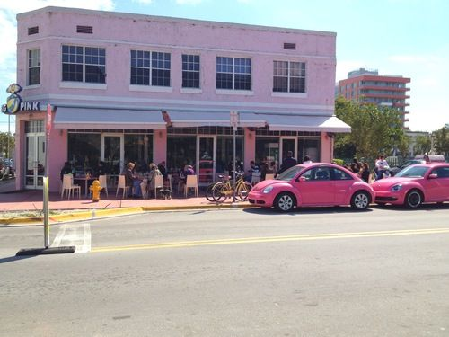 Pink Restaurant Miami Beach Fashion Pinterest And South