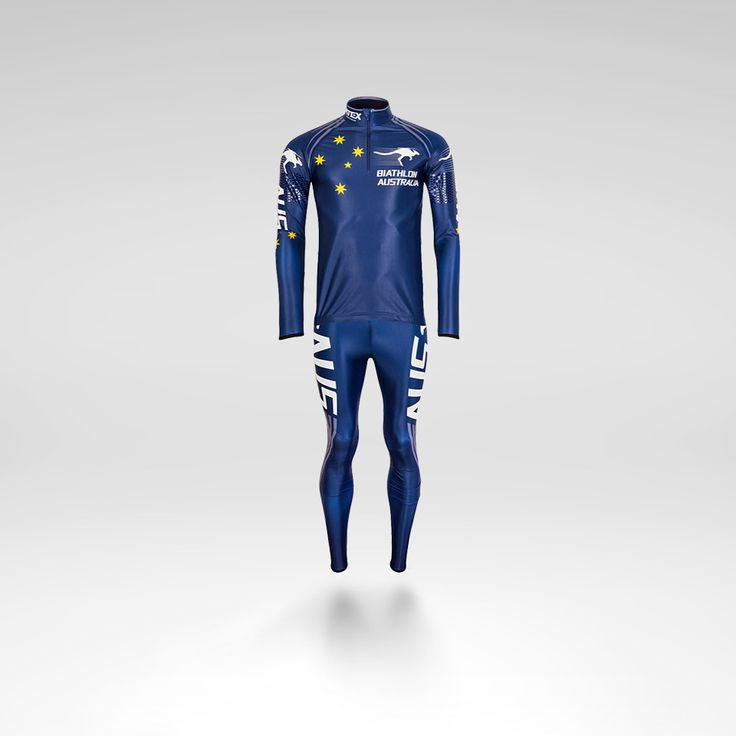 australian biathlon team design for atex sportswear