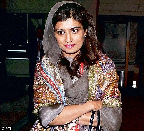 Hina Rabbani Khar at Nuclear Security Summit in Seoul