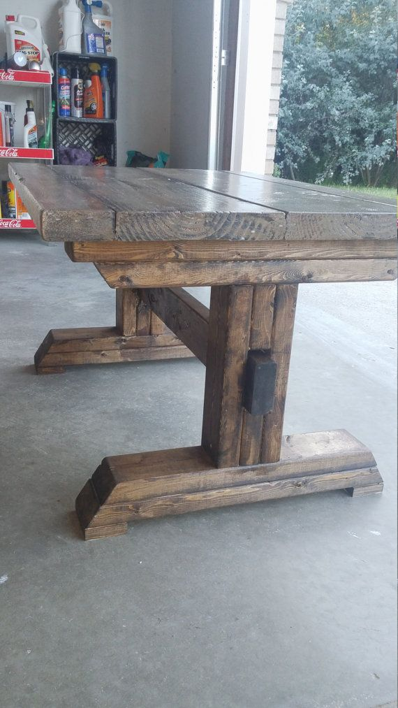 Kids Table, Kids Farm Table, Coffee Table, Mini Farm House Table