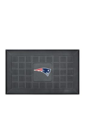 Fanmats  Nfl New England Patriots Medallion Door Mat - Black