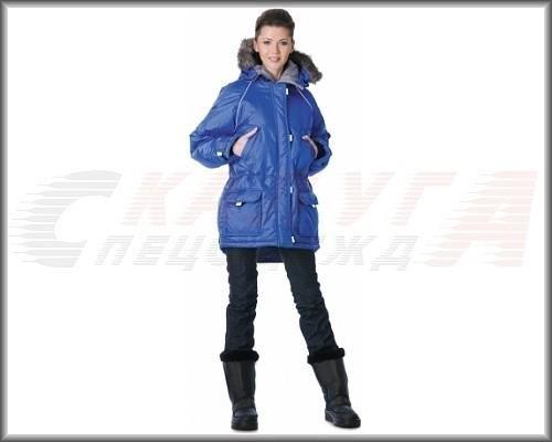Куртка женская зимняя спецодежда германия