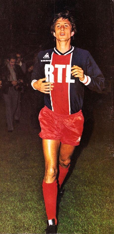 Johan Cruyff, Paris Saint Germain. Este hombre marco un antes y un después en el fútbol.