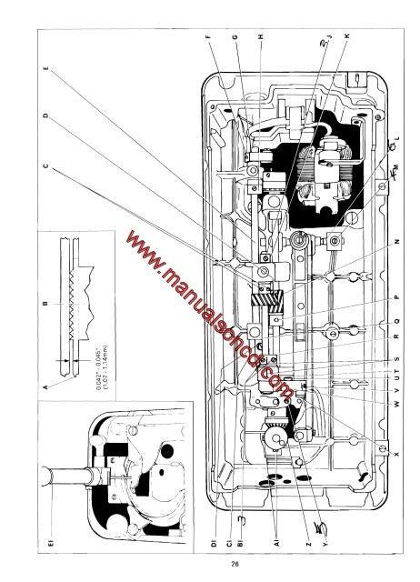 singer 518 sewing machine threading diagram