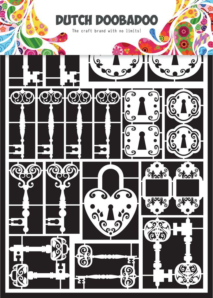 472.948.009 Dutch Paper Art Keys