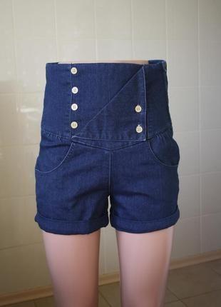 Шорты zara trf высокие шорты, шорты с высокой талией, размер s+(ZARA)+ за+250+грн.