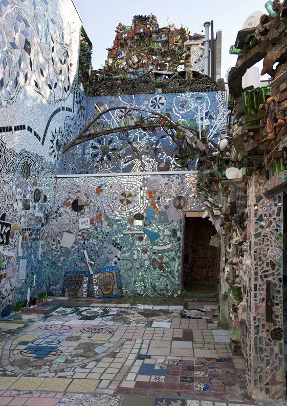 philadelphia magic gardens, isaiah zagar