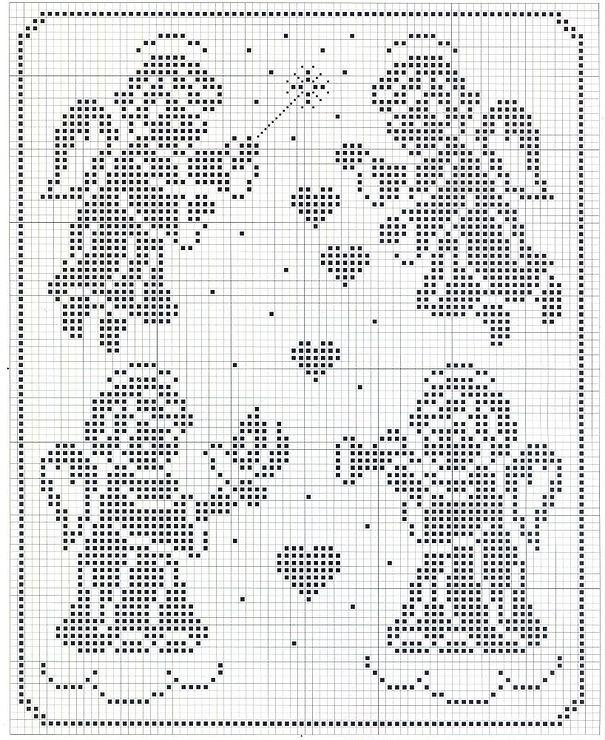 вышивка крестом рождество схемы: 39 тыс изображений найдено в Яндекс.Картинках