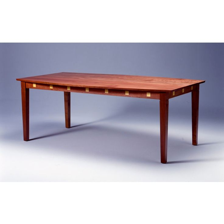 Tasmanian Myrtle Dining Table by Anton Gerner - bespoke contemporary furniture melbourne