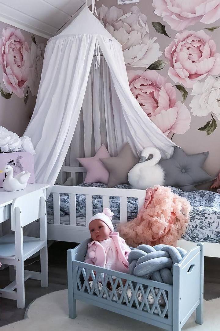 Star pillow to buy on Etsy - HappySpacesWorkshop - scandinavian kids room decor, pastel girls room ideas, pink and grey girls room
