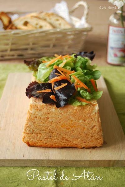 Pastel de Atún (al microondas o al horno)   Estuches y moldes Lekue a la venta aquí: http://www.cornergp.com/tienda?bus=lekue