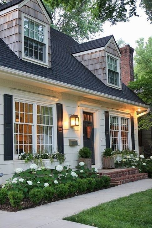 50 Marvelous Cottage House Exterior Design Ideas