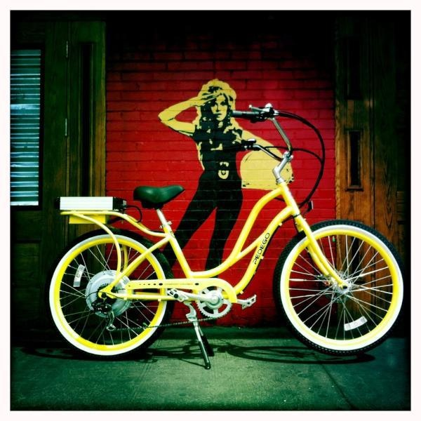 the brighter the better! #Pedego #electricbikes