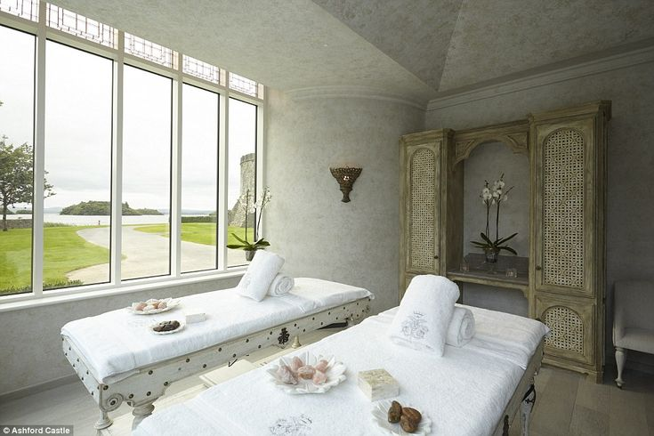 There are five treatment rooms, including a couple's room that has large windows with views of the grounds and Lough Corrib