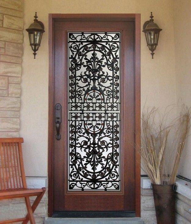 Best 25+ Iron Front Door Ideas On Pinterest
