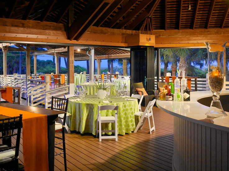 Beach Pavilion at the Sonesta Resort Hilton Head Island. Our venue! So beautiful, cannot wait until 10.08.16!