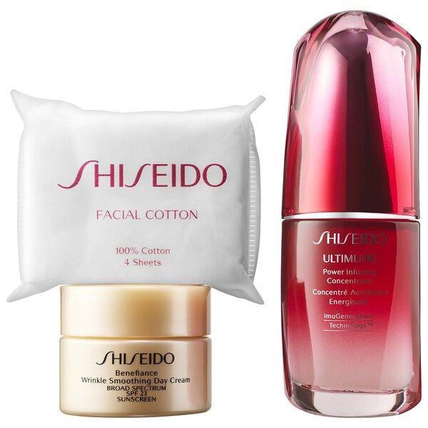 Strengthening Power Set Shiseido Sephora In 2020 Sephora Shiseido Spf Sunscreen