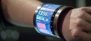 FlexEnable, Flexible Display, Futuristic Gadget, Wearable Electronics, LCD bracelet, OLCD screen, Future Technology, Flexible Electronics by FuturisticNews.com