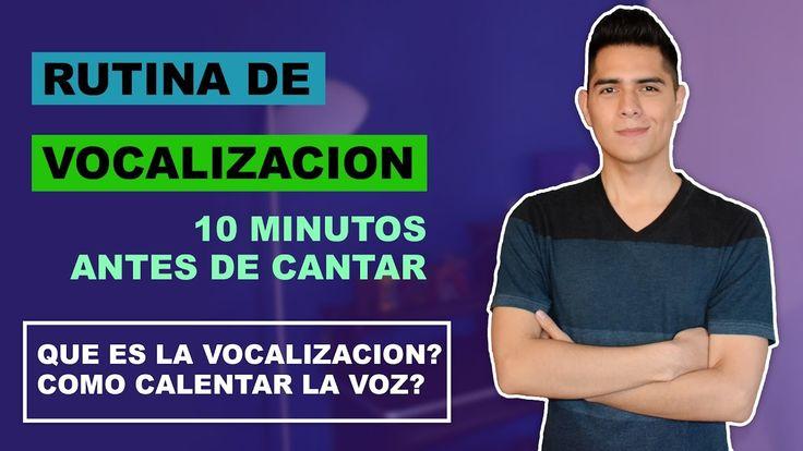 Como Vocalizar? Rutina de Vocalizacion 10 Minutos Antes de Cantar  | Que...