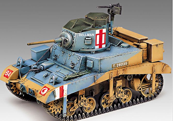 stylecolorful - NEW M3 Stuart 'Honey' 1/35 Academy Model Kit Tank Military US British Army War   http://www.stylecolorful.com/new-m3-stuart-honey-1-35-academy-model-kit-tank-military-us-british-army-war-13270/
