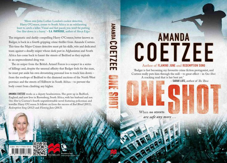 One Shot by Amanda Coetzee, South African crime writer