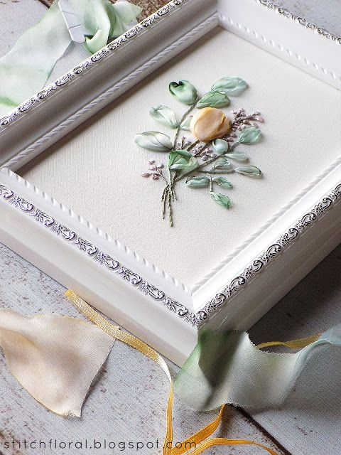 How to frame hand embroidery: tutorial | Stitch Floral | Pinterest ...