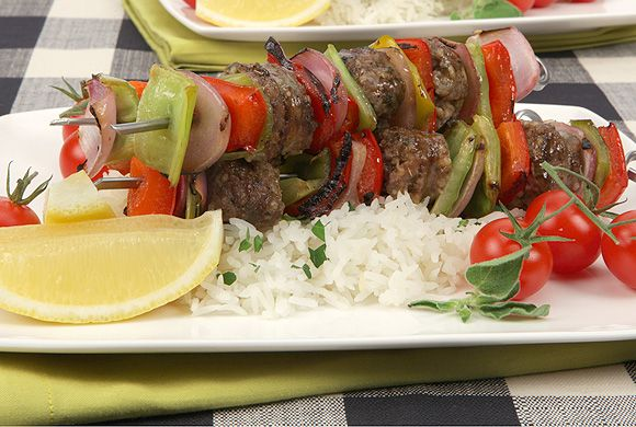 Sweet and Tangy Sausage Pepper Kabobs | Cook Me. Please. | Pinterest