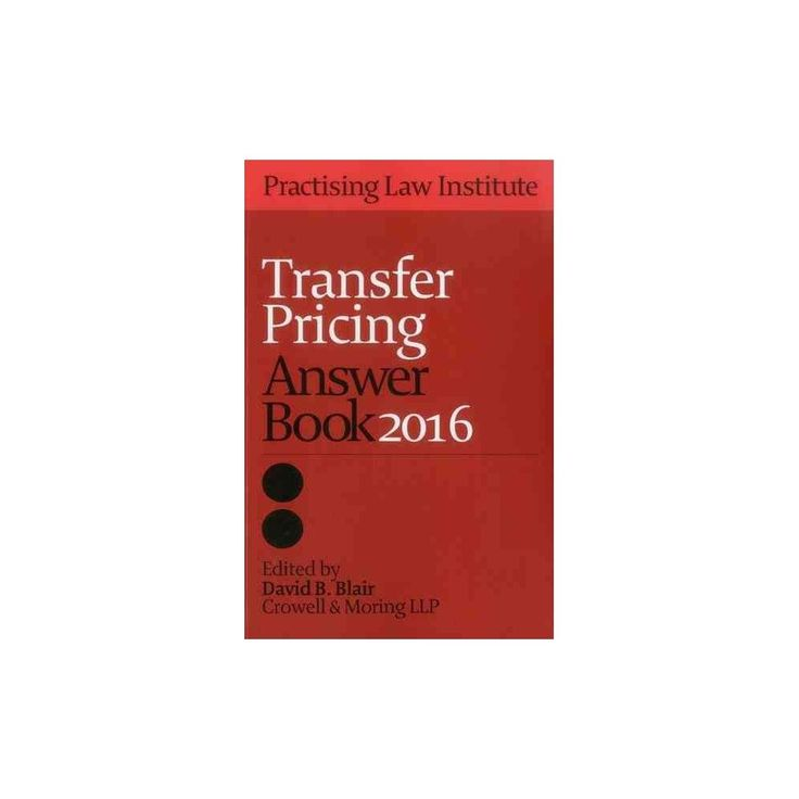 Transfer Pricing Answer Book 2016 (Paperback)