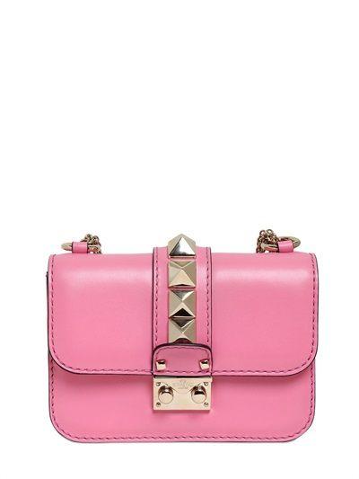Valentino Pink Rockstud Clutch