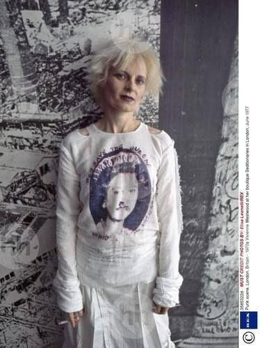 Vivienne Westwood on the King's Road, 1977
