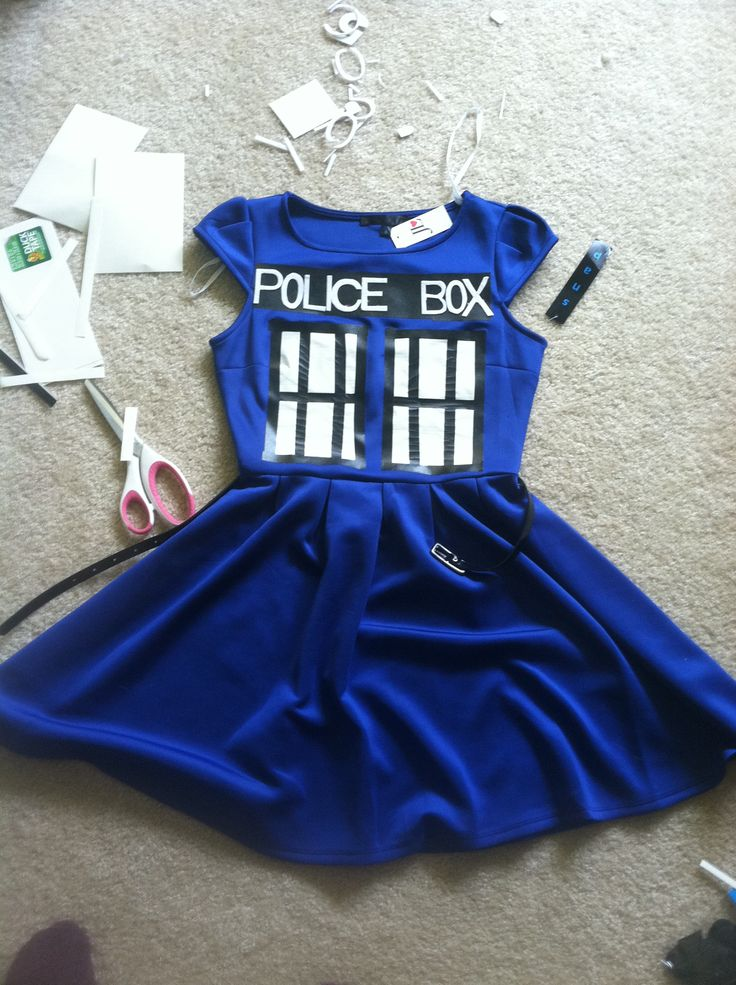 TARDIS Halloween costume! | productive procrastination